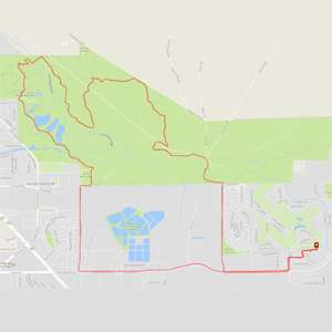 Clark County Wetlands Loop bike ride from Tuscany is 14 miles