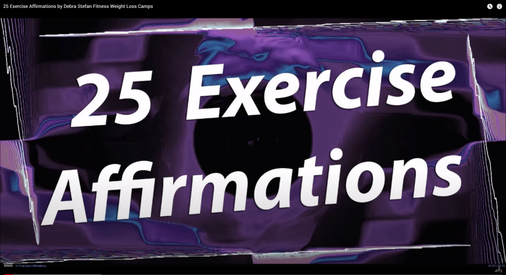 Exercise Affirmations