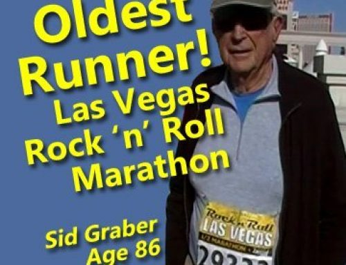Senior Fitness Trainer introduces Oldest Runner in the Las Vegas Marathon | Amazing Senior Athletes