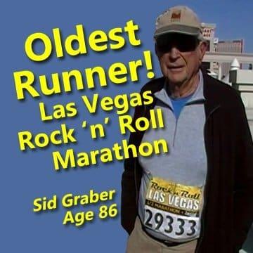 oldest runner in the las vegas marathon