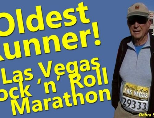 Oldest Runner- Las Vegas Rock and Roll Marathon