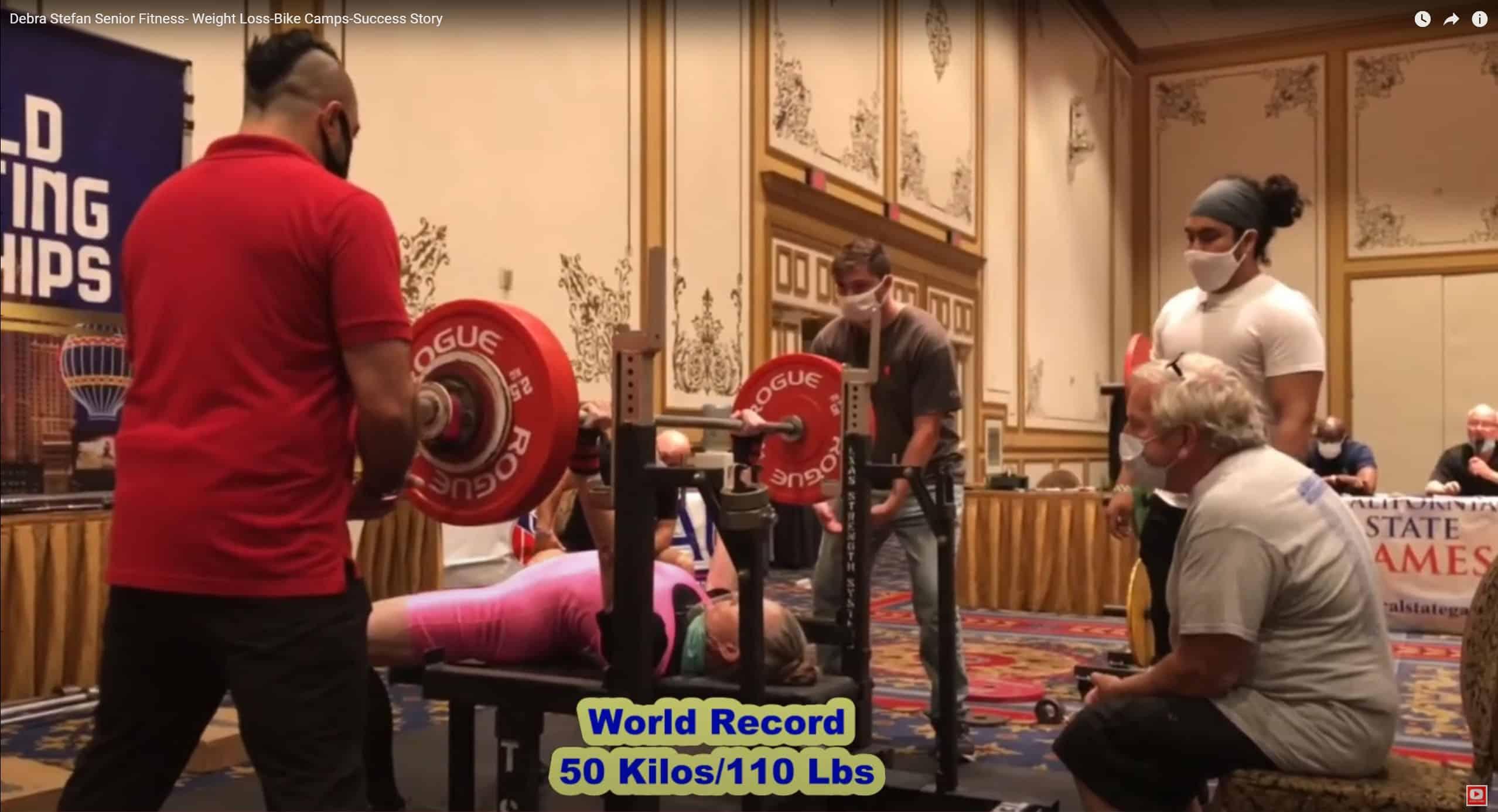 Debra Stefan Fitness Records