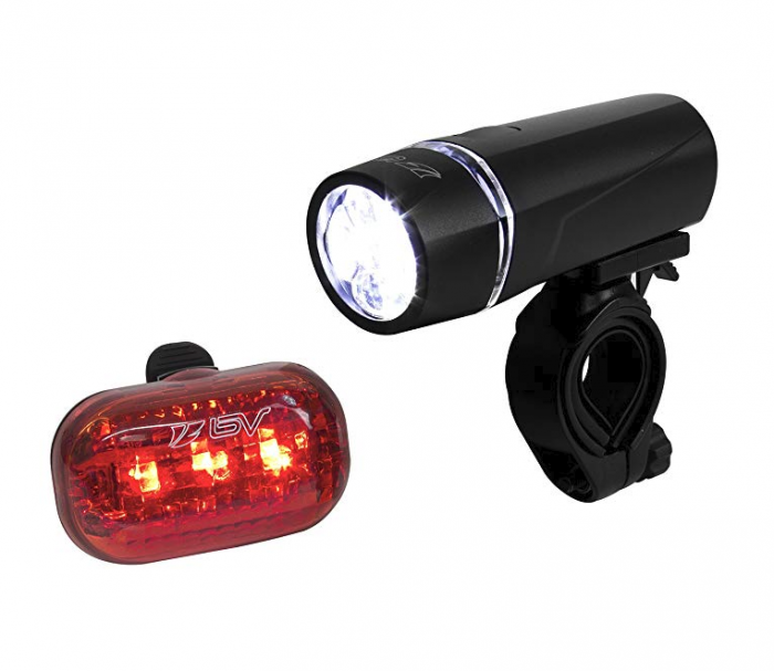 Bike Safety LightsFront and Back Bicycle Safety Lights with quick release for easy removal.