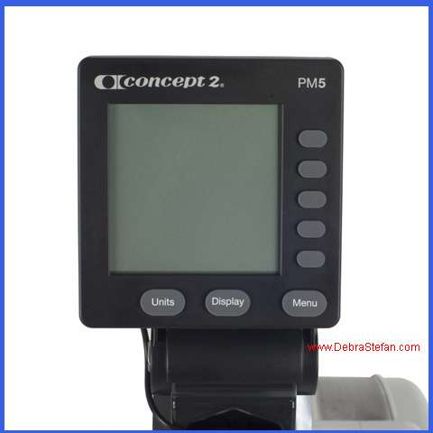 Concept 2 Rower- Monitor