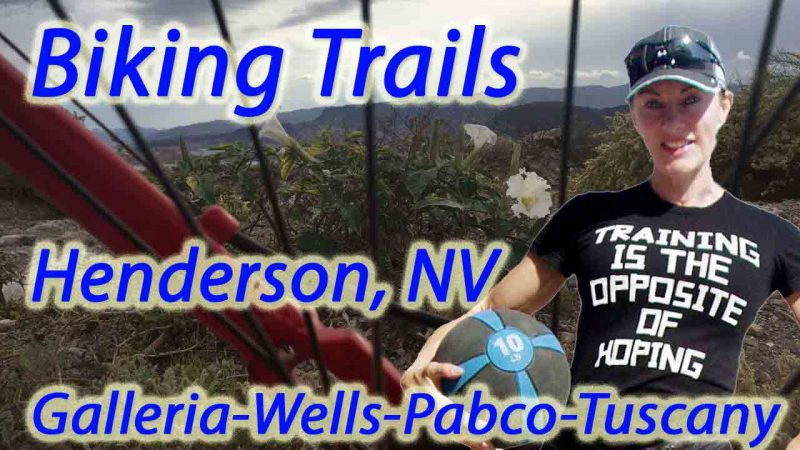 Fitness Biking Retreat Routes in Henderson, NV