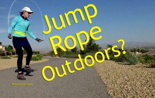 Should you jump rope outdoors?