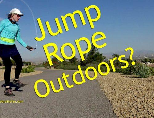 Jump Rope Outdoors? Rope vs Run
