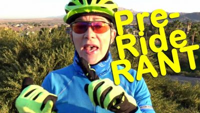 Fitness Biking Pre-Ride Rant
