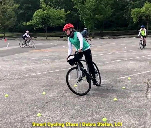 Smart Cycling League of American Bicyclists Instructor, Debra Stefan, LCI