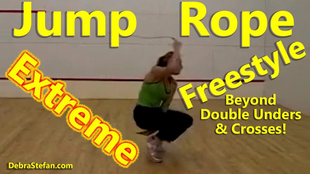 click on image for video playlist of Debra Stefan jump rope history...