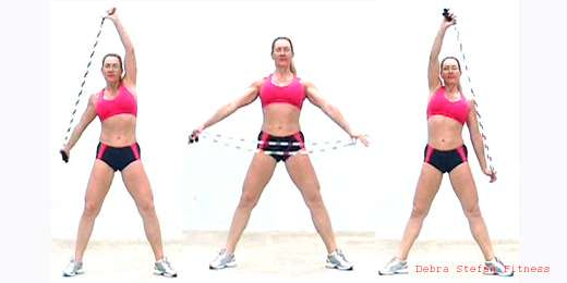 Jump Rope Instruction- Stretches for Warm Up and Cool Down | Rope Swims