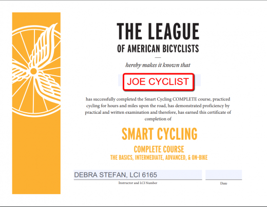 Smart Cycling Complete Course by Debra Stefan, LCI