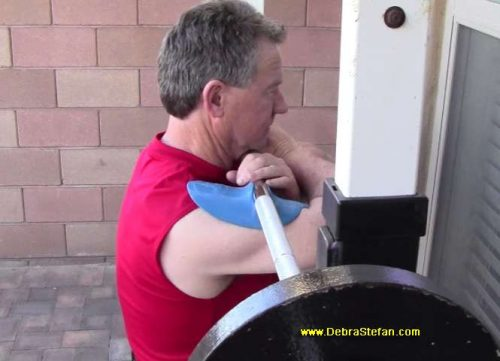 Barbell Squat Sting-Ray Device
