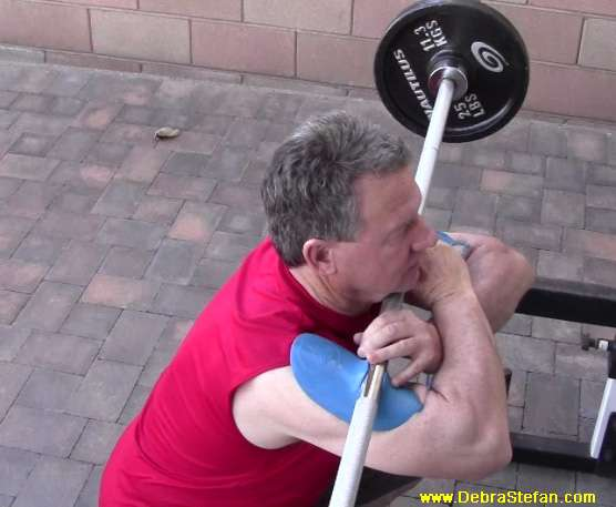 Sting-Ray-Barbell-Training-Device