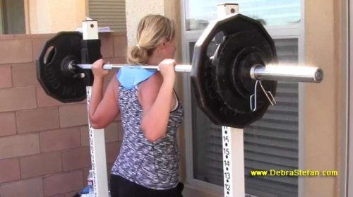 Barbell Back Squat Manta-Ray Device