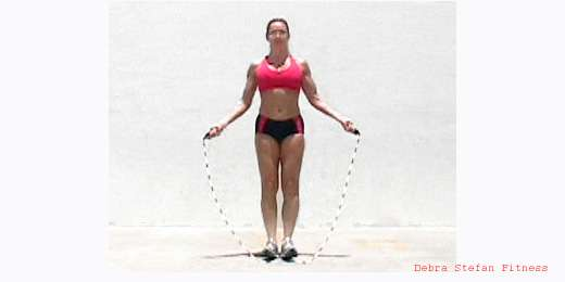 Jump Rope Instruction- Jump Rope Skills - Toe Catch
