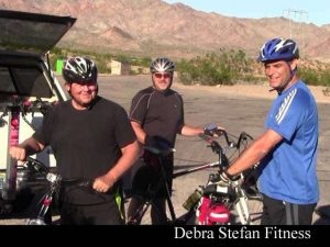 Bike Camp Fitness Retreat Men's Ride