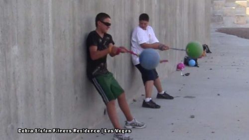 Student Athletes Train with Extreme Converta-Ball