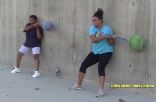 Extreme Converta-Ball Explosive Rotations for Women