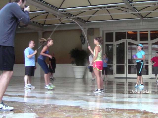 Group Jump Rope Team Skills Workshop for Corporate Events