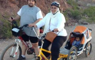 Couples Fitness Biking Retreat in Las Vegas for Saudi Family