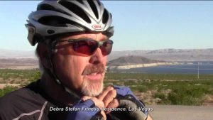 Dedicated Cyclist Tony McConaghy at Biking Retreat