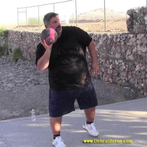 500Lb Man at Mens Weight Loss Camp