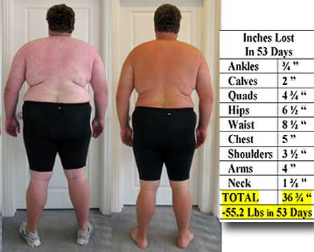 Mens Weight Loss Camp Summer College Break 55Lbs 53 Days