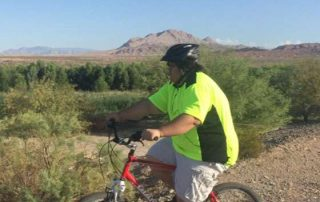 400 Lb Man at Private Fitness Biking Retreat