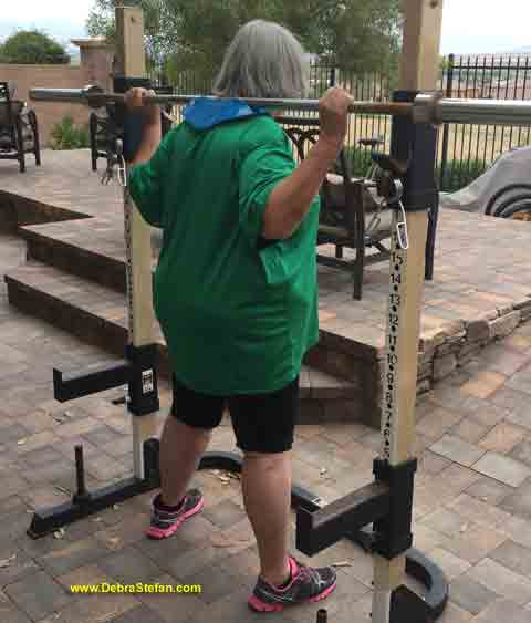 Senior Barbell BalanceTraining