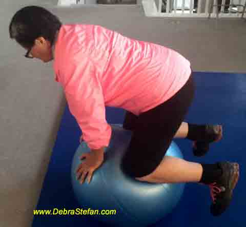 Senior Fitness Retreat Workouts |Stability Ball Core Balance