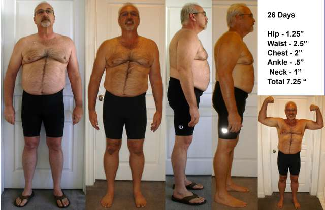 Mens Fitness Camp 4 Weeks body building after chemo.