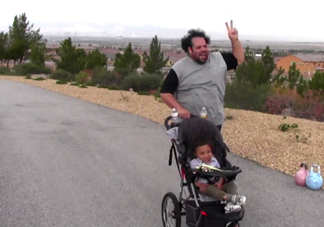 Saudi Man on U.S. Fitness Holiday Couples Weight Loss Camp Las Vegas Live-in Fitness Retreat