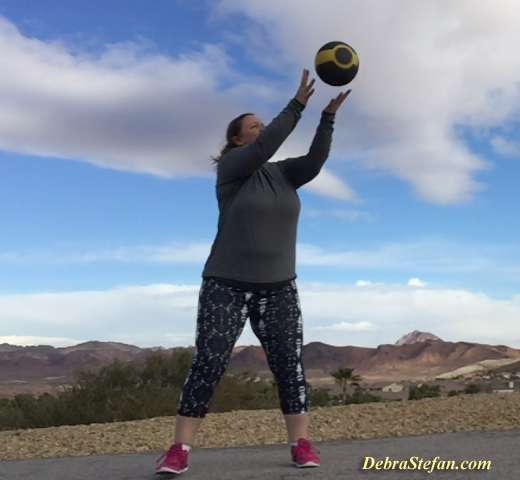UK Lady attends Weight Loss Fitness Camp in Vegas